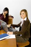 Women at the office Royalty Free Stock Image