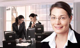 Women in office Stock Photos