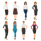 Women in office clothes. Stock Photography