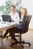Women in the office Royalty Free Stock Photography