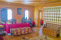 Women part of Palace Stock Image