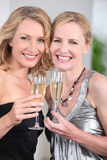 Women partying Stock Images