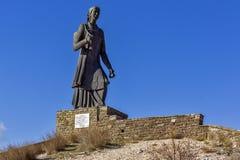 The women of Pindus monument, Zagori, Epirus Royalty Free Stock Photos