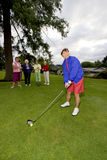 Women Playing Golf Royalty Free Stock Photography