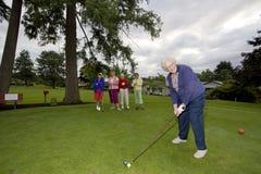 Women Playing Golf Royalty Free Stock Photo