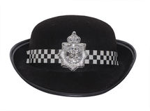Women police hat Royalty Free Stock Photography