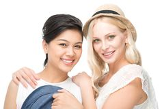 Women of fashion Royalty Free Stock Photo