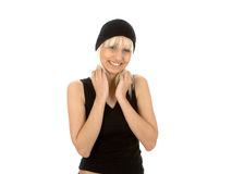 Women posing and smilling Royalty Free Stock Photo