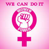 Women power Royalty Free Stock Photo