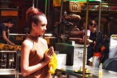Women pray Royalty Free Stock Photos