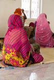 Women praying in protestant church Royalty Free Stock Image