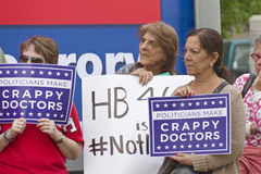 Women Protest North Carolina Abortion Restrictions Royalty Free Stock Image