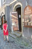Museum in Cesky Krumlov(Unesco),Czech Republic Stock Photos