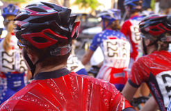 Women racers Stock Image