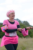 Women raising money for Cancer Charity in the Race for Life Stock Photography