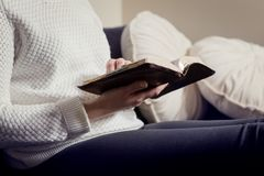 Women Reading the Bible Royalty Free Stock Image
