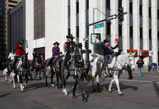Women Riders in National Western Stock Show Parade Stock Image