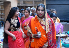 Women  Rituals Stock Photography