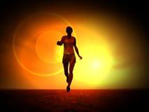 Women Runner 209 Stock Photo