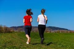 Women running Stock Photography