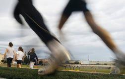 Women at Running training camp Stock Photos