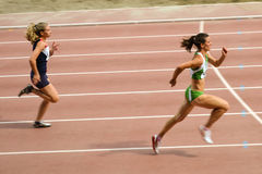 Women running Stock Images