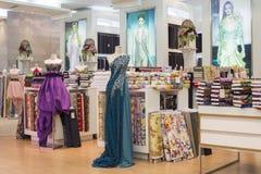 Women' s在超级市场泰国模范的衣物部分 曼谷泰国 库存图片