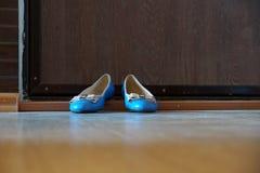 Women& x27; s鞋子- 免版税库存照片