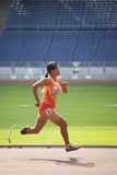 Women's 100 Meters for Disabled Persons Stock Photography