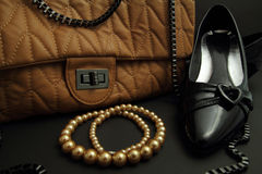 Women's accessories. Royalty Free Stock Image