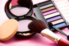 Women's Accessories - Cosmetic Background Stock Photos