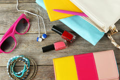 Women's accessories Royalty Free Stock Image