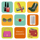 Women's accessories Stock Photo