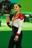 Women's all-around gymnastics bronze medalist at Rio 2016 Olympic Games Aliya Mustafina of Russia Stock Photography