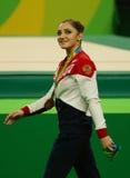 Women's all-around gymnastics bronze medalist at Rio 2016 Olympic Games Aliya Mustafina of Russia Stock Photos
