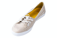 Women's athletic shoes Royalty Free Stock Photography