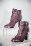 Women's Autumn boots, stylish Italian shoes Royalty Free Stock Image