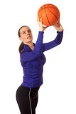 Women's Basketball Royalty Free Stock Photography