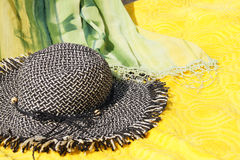 Women's beach accessories Royalty Free Stock Image