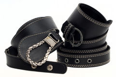Womens belts Stock Images