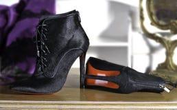 Women& x27; s boots handmade ботинки моды handmade стоковое фото rf