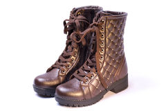 Women's boots Royalty Free Stock Image