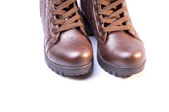 Women's boots Royalty Free Stock Photography
