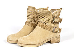 Women's Boots Royalty Free Stock Photo