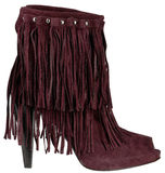 Women's boots. On a white background, isolated royalty free stock photos
