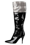 Women's boots. On a white background, isolated Royalty Free Stock Photography