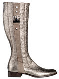 Women's boots. On a white background, isolated stock photography