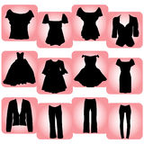 Women's clothes Royalty Free Stock Photo