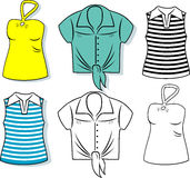 Women's Clothes Royalty Free Stock Image