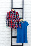 Women's clothes and accessories Royalty Free Stock Image
